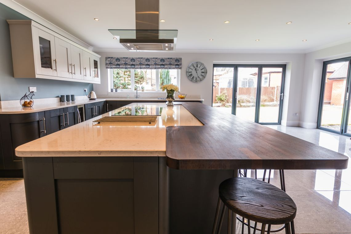 painted shaker in shades of grey 187 homestyle kitchens